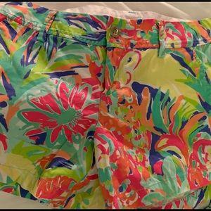 Lilly Pulitzer Trippin & Sippin Callahan shorts 12